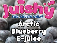 Arctic Blueberry E-Juice by Juishy Review