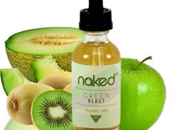 180 Smoke Naked 100's Green Blast E-juice Review