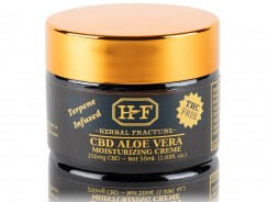 250mg Full Spectrum CO2 Aloe Vera Cream by Herbal Fracture Review