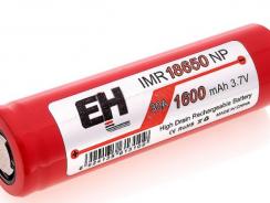 Flat top EH IMR 18650 1600MAH 30 AMP Highdrain Mechanical Mod Battery