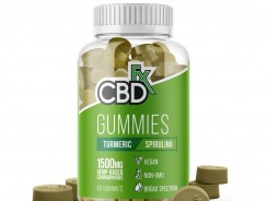 Gummies with Turmeric and Spirulina 1500mg by CBDFx Review