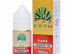 ERTH Hemp Strawberry Kiwi CBD Vape Juice Review