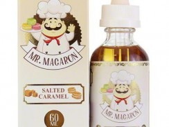 Salted Caramel E-Juice by Mr. Macaron Review